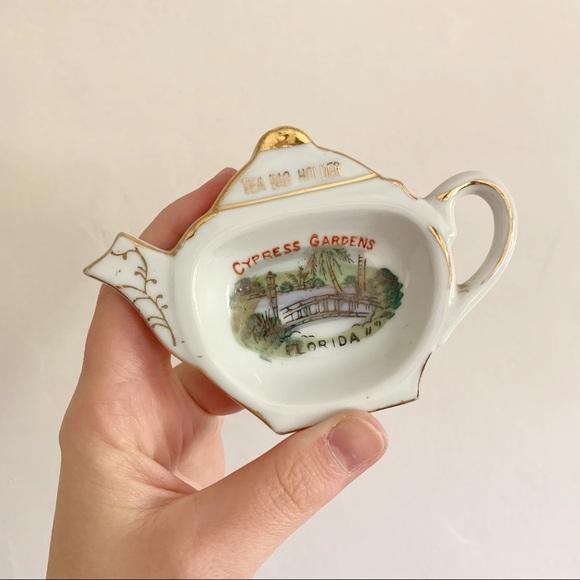 3/$20 vintage • cypress gardens tea bag souvenir